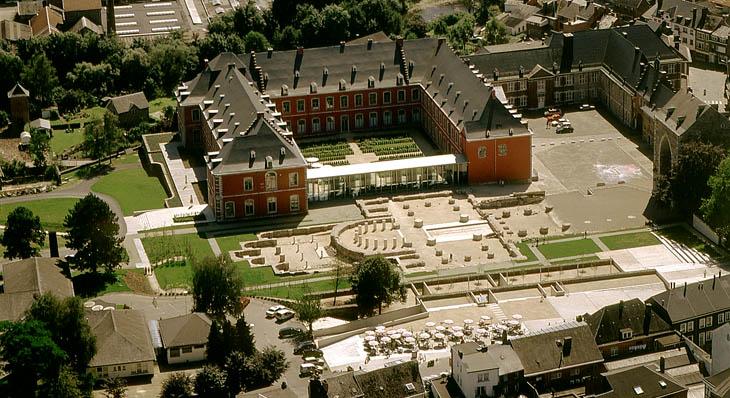 Vestiges-de-l'ancienne-abbaye-de-Stavelot. jpg