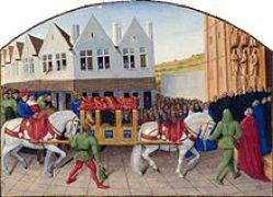 Une-litière-au-Moyen-Âge
