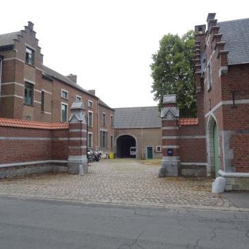 Entrée principale du château Snyers