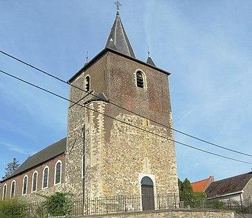 L'église du XIIe S